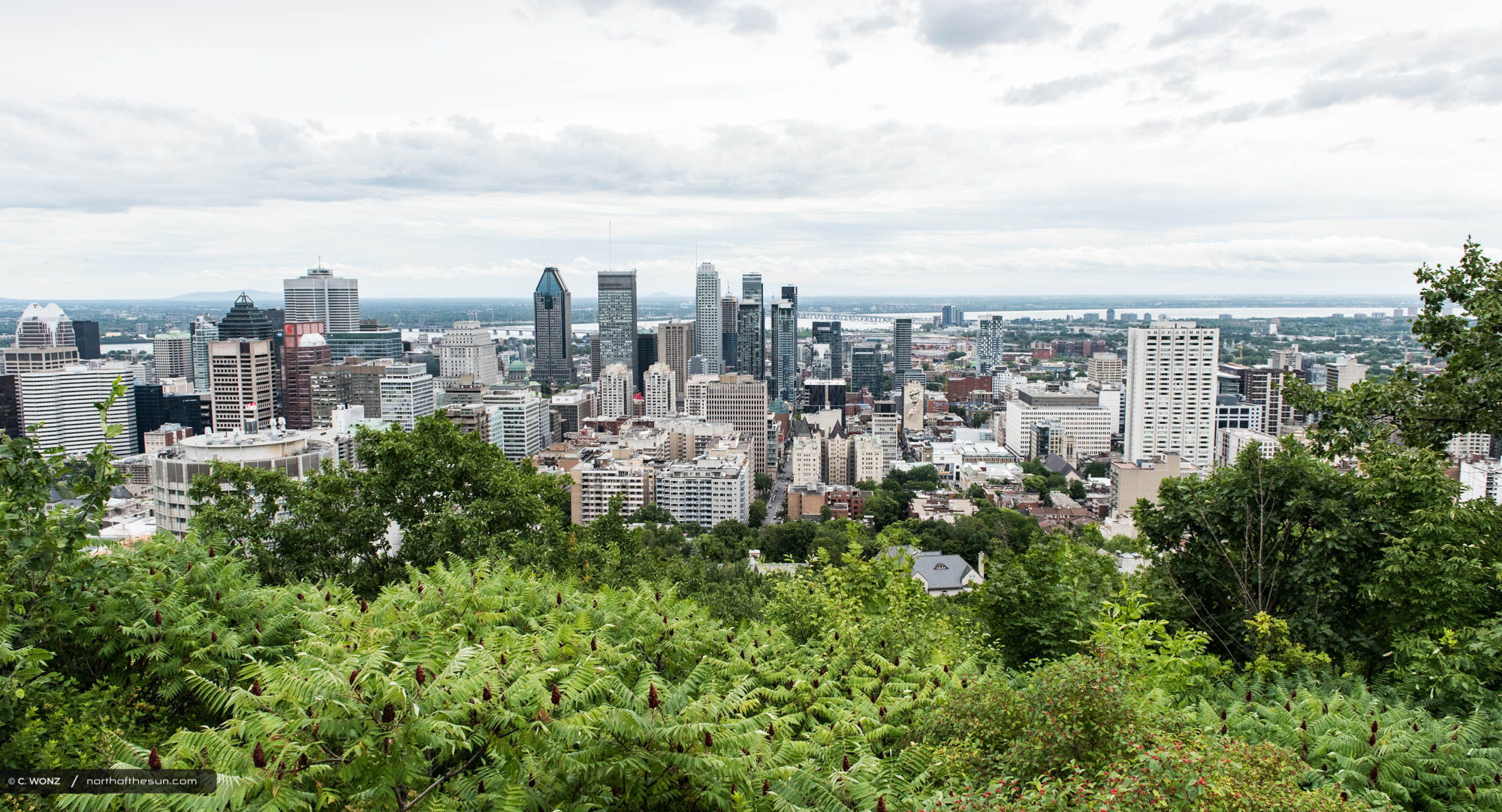 Montreal, Canada, summer, city trip